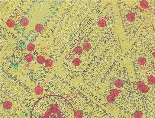 Photo:Bomb Map: Gloucester Street