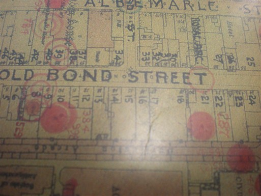 Photo:Bomb Map: 21 Old Bond Street