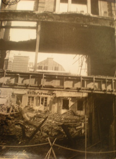 Photo:Damage to Gieves Ltd, 21 Old Bond Street September 1940