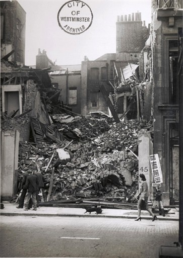Photo:The destruction at 45 Albemarle Street
