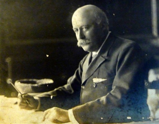 Photo:Sir Hubert Parry who wrote the music for Jerusalem
