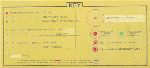 Photo:Key to bomb incidents