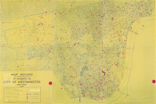 Photo:Map Record of Incidents in the City of Westminster