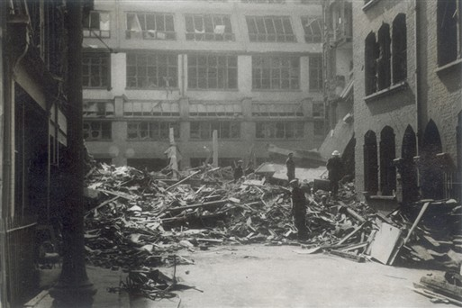 Photo:Carlisle Street damage, 11 May 1941