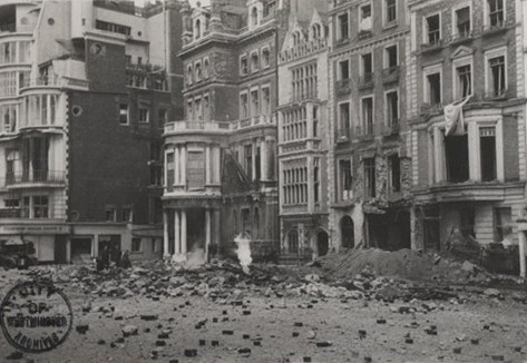 Photo:Park Lane, 11 May 1941