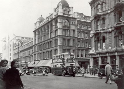 Photo:John Lewis's before the war (West and East Houses)