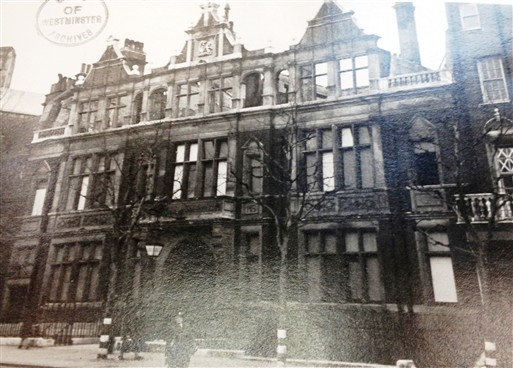 Photo:Victoria Library, Buckingham Palace Road SW1