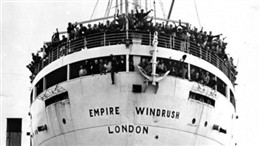 Photo:HMT Empire Windrush